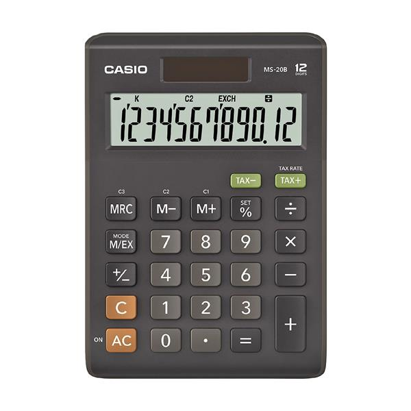 Kalkulačka Casio MS 20 B