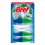 Bref Duo Aktiv Northern Pine - tekutý WC blok 50 ml, 1 + 2 náplně