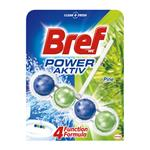 Bref Power Aktiv Pine Forest - tuhý WC blok 50 g