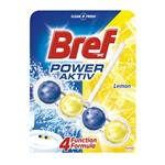 Bref Power Aktiv Juicy Lemon - tuhý WC blok 50 g